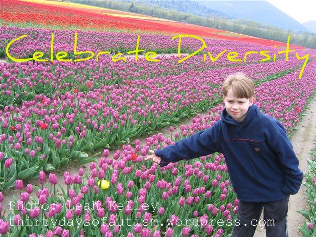 Celebrate Diversity- tulips