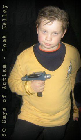 H as Captain Kirk in 2009