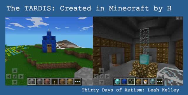 H's Minecraft TARDIS