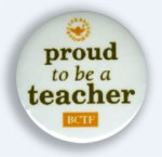 Proud to be a teacher: BCTF