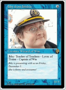 Ibby Grace: Magic Card