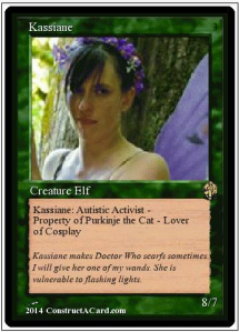 Kassiane Sibley: Magic Card